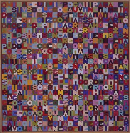 Alighiero Boetti: Untitled, 1988