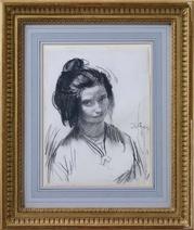 Augustus John: Portrait of Dorelia, 1905