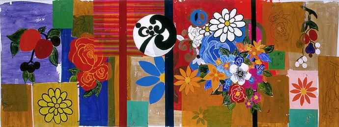 Beatriz Milhazes: Laranjeiras, 2002
