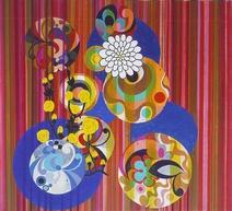 Beatriz Milhazes: Leme, 2002