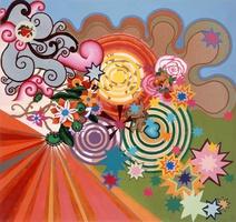 Beatriz Milhazes: Tempo de verão, 1999