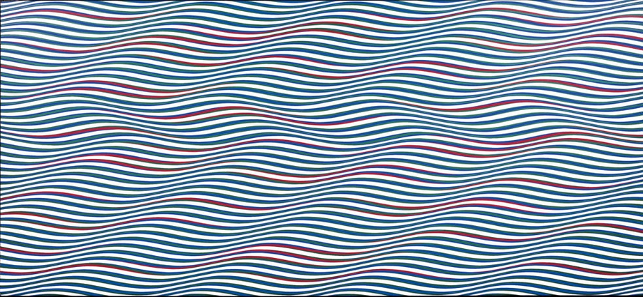 Bridget Riley: Streak 2, 1979
