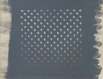 Bridget Riley: Warm Greys, Mid Tone Cool Grey Ground, 1966
