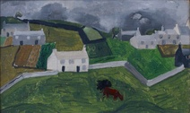 Christopher Wood: Farm Near St. Ives, 1928