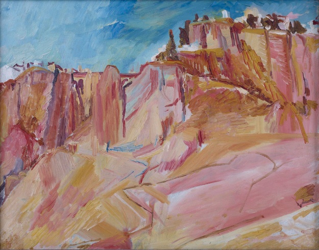 David Bomberg: Ronda and the Tajo Gorge, 1954