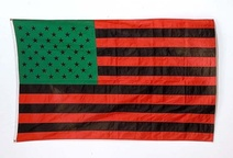 David Hammons: African American Flag, 1990