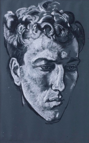 Eric Kennington: Portrait of Robert Graves, 1921