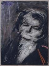 Frank Auerbach: Head of Helen Gillespie, 76.2 x 57.2 cm