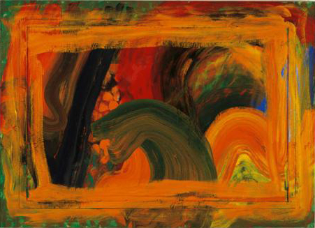 Howard Hodgkin: Florida Garden, 1996