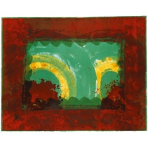Howard Hodgkin: Monsoon, 1987