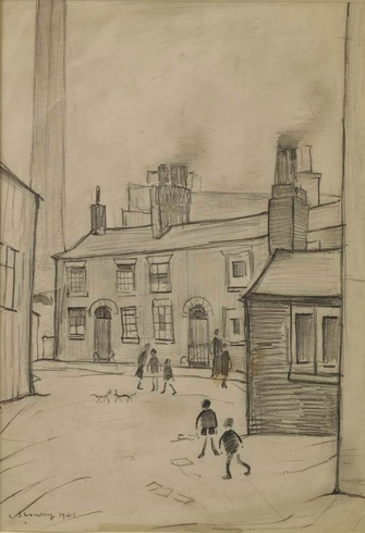 L. S. Lowry: Children Playing, 1941