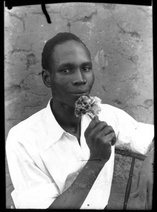 Seydou Keïta: Self Portrait, 1949