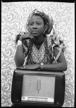 Seydou Keïta: Untitled (Portrait of a Young Woman), 1956