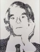 Vik Muniz: Pantheon 1, American Men (Andy Warhol), 2000