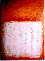 Vik Muniz: Pictures of Colour (After M Rothko), 2001